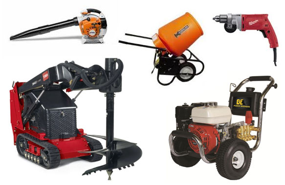 Equipment and tool rentals in Central Kentucky