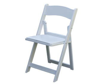 Where to find CHAIR, PADDED GARDEN WHITE in Lexington