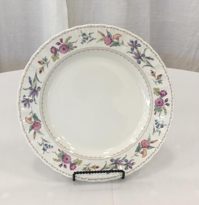 Where to rent CHINA, FLORAL DINNER PLATE in Lexington KY, Georgetown KY, Frankfort KY, Richmond KY, Winchester KY and Central Kentucky.
