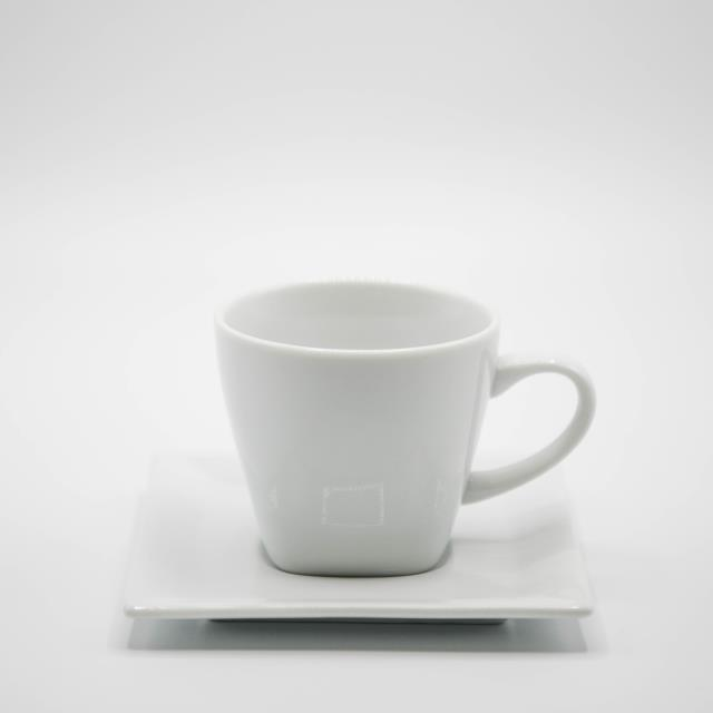 Where to rent CHINA, SQUARE WHT COFFEE CUP in Lexington KY, Georgetown KY, Frankfort KY, Richmond KY, Winchester KY and Central Kentucky.