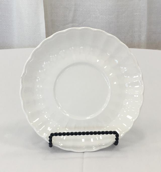 Where to find CHINA, WHT SCALLOP SAUCER in Lexington