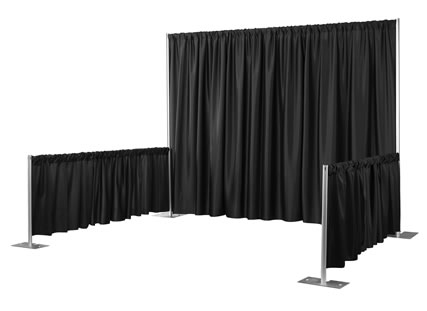 Where to find BOOTH, PIPE   DRAPE 8X10 in Lexington