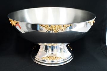 Where to find PUNCH BOWL, SS W GLD TRIM 5 GAL in Lexington