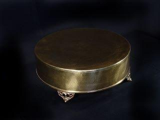 Where to find CAKE STAND, GOLD HAMMERED 19 in Lexington
