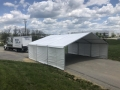 Rental store for TENT, STRUCTURE 30X30 WHITE in Lexington KY