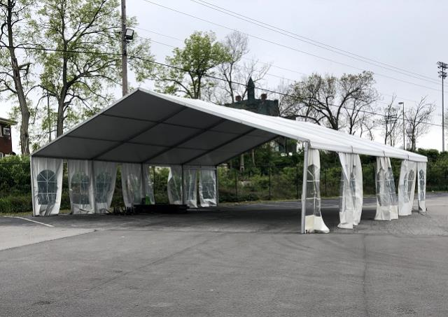 Tent Structure 40x40 White Rentals Lexington Ky Where To