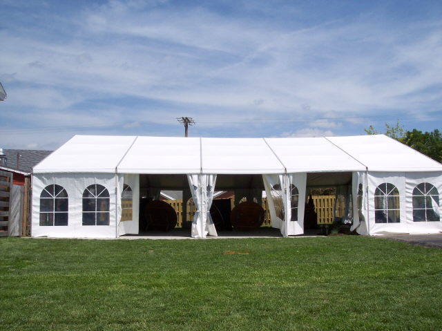 Tent Structure 40x50 White Rentals Lexington Ky Where To