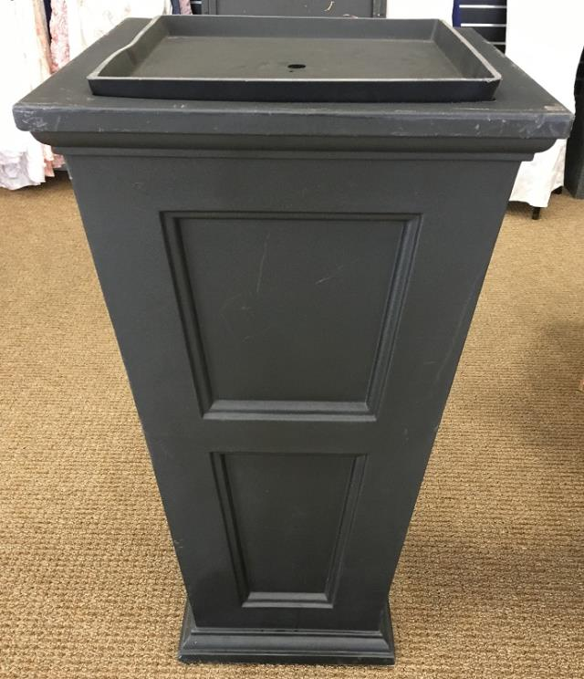 Where to find PLANTER, PATIO BLACK 28  T in Lexington