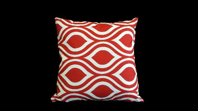 Where to find PILLOW, DESIGNER RED 17X17 in Lexington