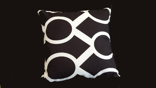 Where to find PILLOW, DESIGNER BLACK 17X17 in Lexington