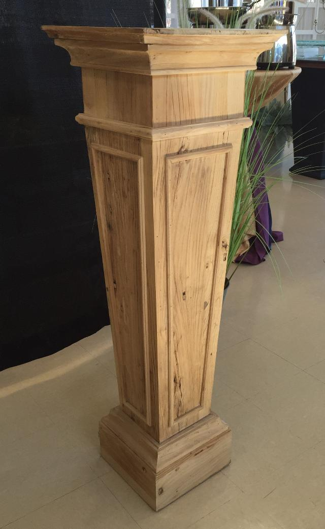 Where to find COLUMN, WOOD  RUSTIC  50 H, 16X16 TOP in Lexington