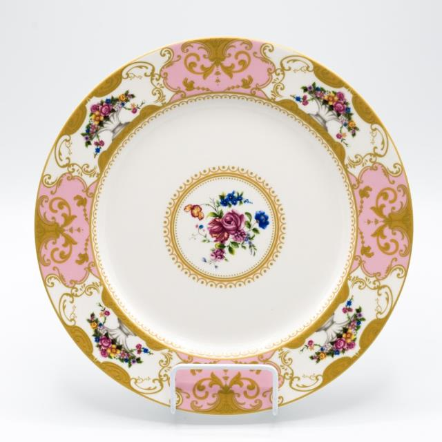 Where to find CHINA, VINTAGE PINK DINNER PLATE in Lexington