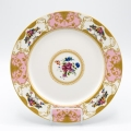 Rental store for CHINA, VINTAGE PINK DINNER PLATE in Lexington KY