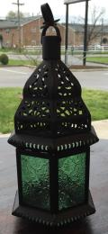 Rental store for LANTERN, HANGING GREEN GLASS in Lexington KY