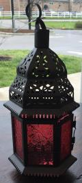 Rental store for LANTERN, HANGING RED GLASS in Lexington KY