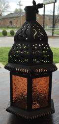 Rental store for LANTERN, HANGING ORANGE GLASS in Lexington KY