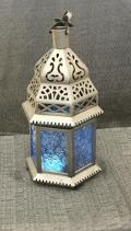 Rental store for LANTERN, HANGING BLUE GLASS in Lexington KY