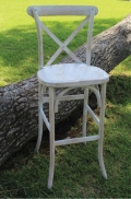 Rental store for CHAIR, BAR STOOL VINEYARD WHITEWASH X BA in Lexington KY