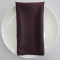 Rental store for NAPKIN, PLUM DEEP SATIN 20X20 in Lexington KY
