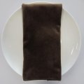 Rental store for NAPKIN, BROWN MINK VELVET 20X20 in Lexington KY