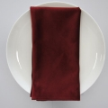 Rental store for NAPKIN, MERLOT VELVET 20X20 in Lexington KY