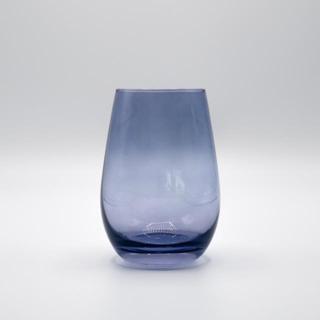 Where to find GLASS, BLUE STEMLESS WINE 16.5OZ in Lexington