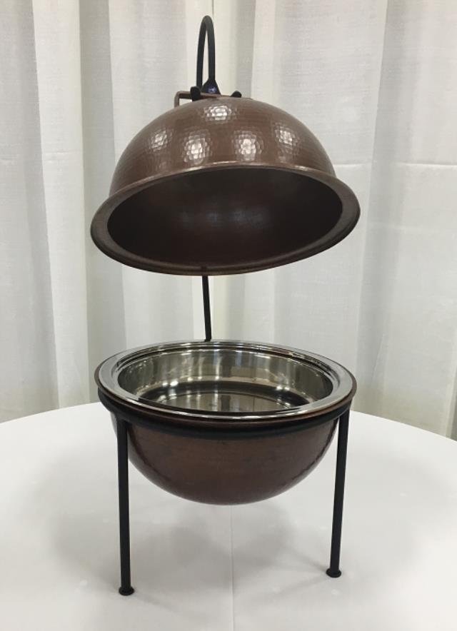 Where to find CHAFER, COPPER 4QT ROUND in Lexington