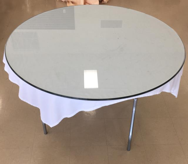 Where to find TABLE, GLASS TOP 4  ROUND in Lexington