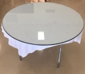 Rental store for TABLE, GLASS TOP 4  ROUND in Lexington KY