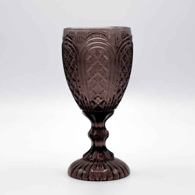 Where to find GLASS, PURPLE VINTAGE GOBLET 11OZ. in Lexington