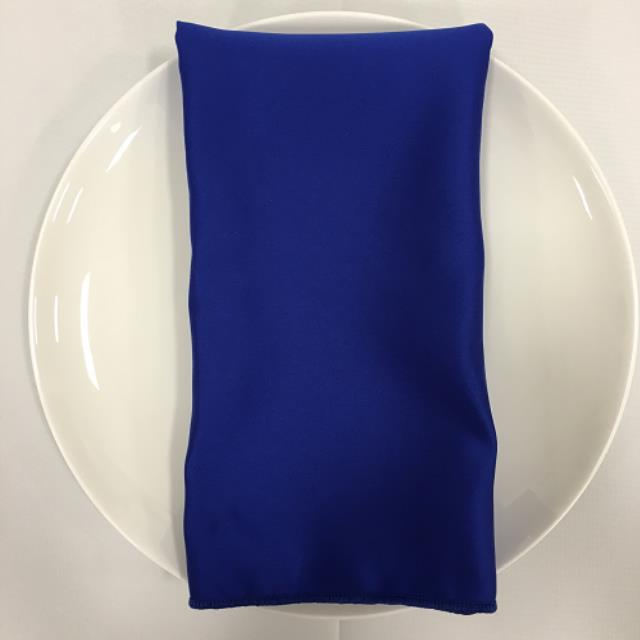 Where to find NAPKIN, BLUE ROYAL SATIN 20X20 in Lexington