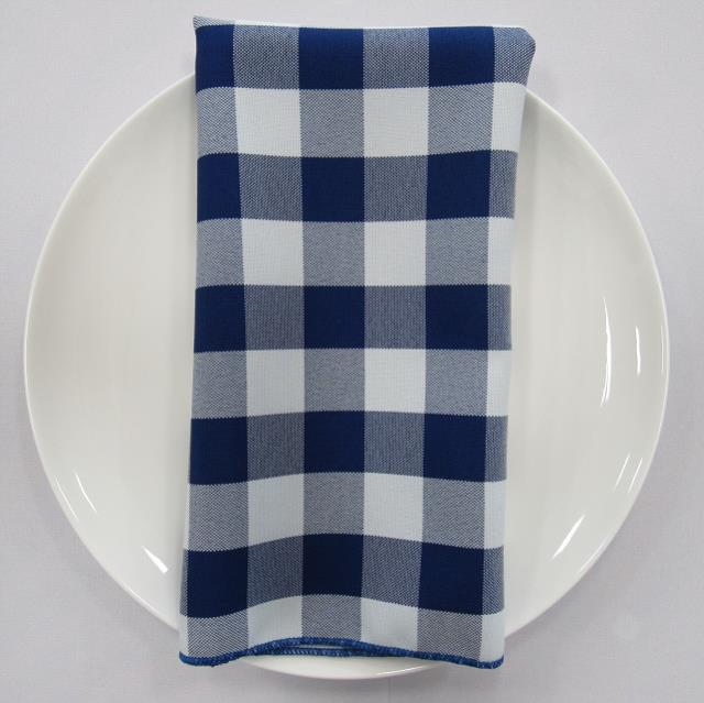Where to find NAPKIN, BLUE CHECK 20X20 in Lexington