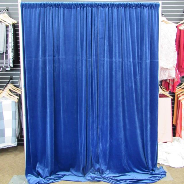 Where to find DRAPE, BLUE VELVET 10 in Lexington