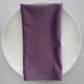 Rental store for NAPKIN, LAVENDER VELVET 20X20 in Lexington KY