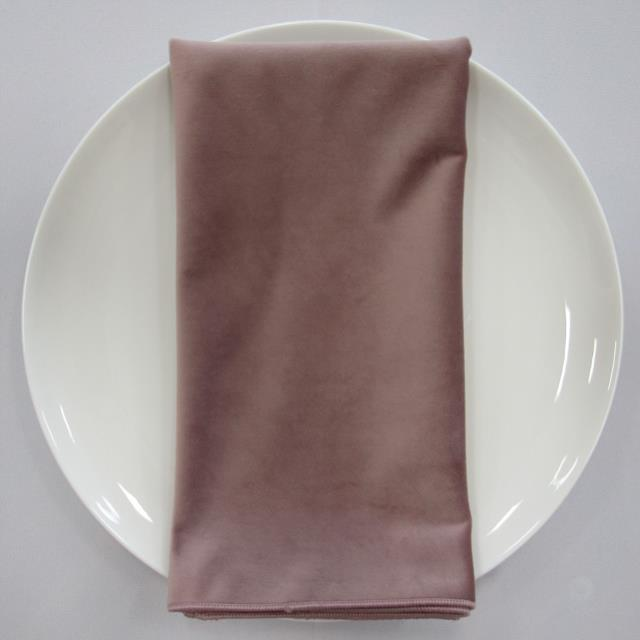 Where to find NAPKIN, ROSE VELVET 20X20 in Lexington
