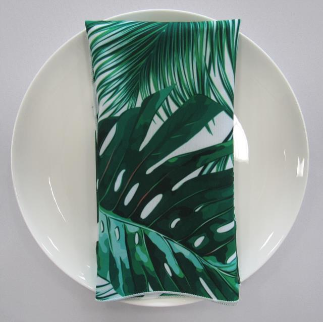 Where to find NAPKIN, PALM LEAF GREEN 20X20 in Lexington