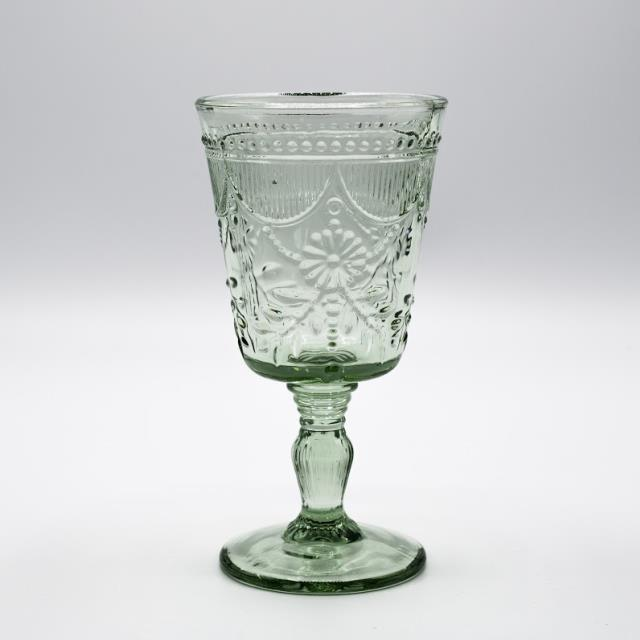 Where to find GLASS, SAGE DEB GOBLET 10OZ. in Lexington