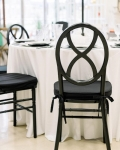 Rental store for CHAIR, BLACK  HOUR GLASS in Lexington KY