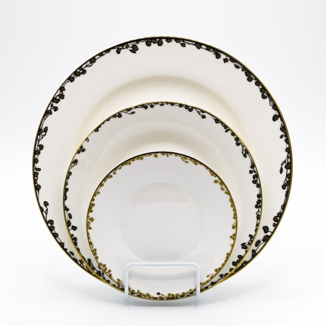 Rent Gold/white Leaf China